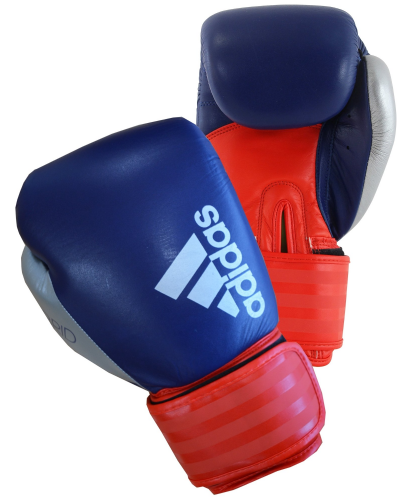 Adidas Hybrid 200 Boxing Gloves - Blue/Red